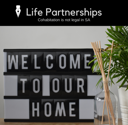 Life Partnerships not legal in SA Thato Mokone PGPS Law